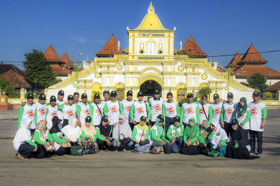 Tigade Bersama Depan Masjid Agung Sumenep Kab