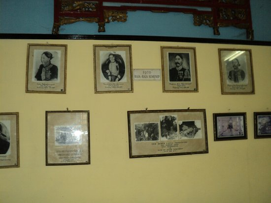 Foto Raja Sumenep Museum Kraton Picture Palace Keraton Kab