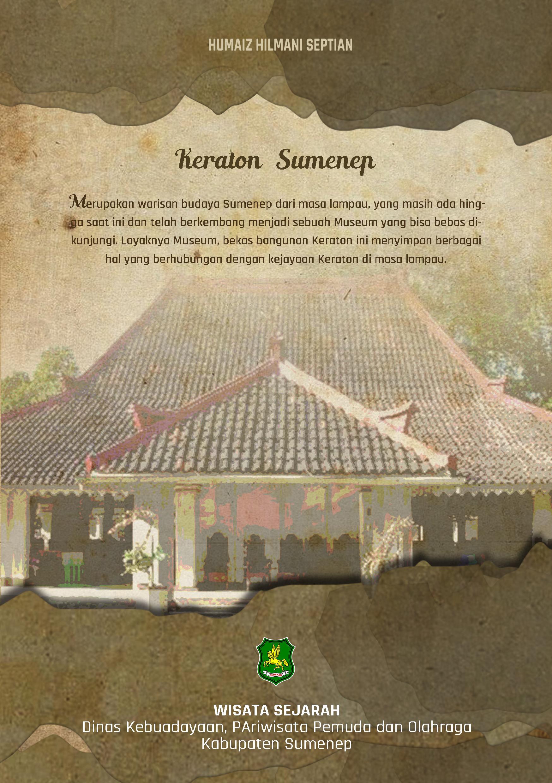 Katalog Cover Belakang Museum Keraton Sumenep Kab