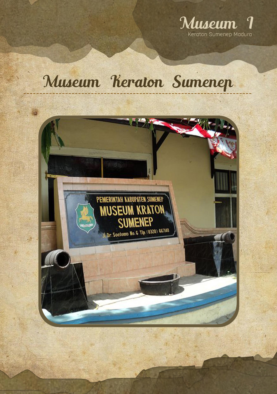 Katalog Museum List Keraton Sumenep Kab