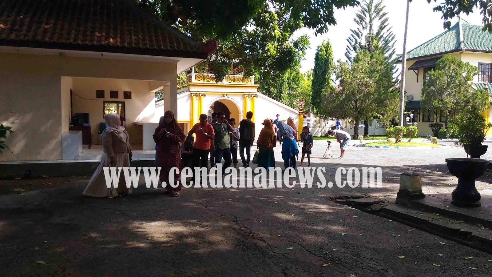 Libur Lebaran Pengunjung Museum Keraton Sumenep Meningkat Hingga Suasana Mendatangi