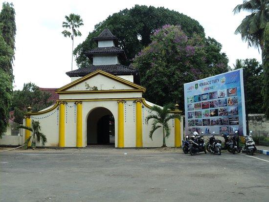 Menuju Lokasi Kraton Museum Sultan Sumenep Berseberangan Jalan Palace Keraton