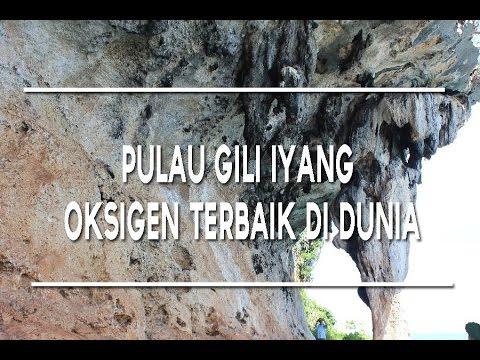 Keindahan Pulau Gili Iyang Oksigen Terbaik Dunia Youtube Kab Sumenep