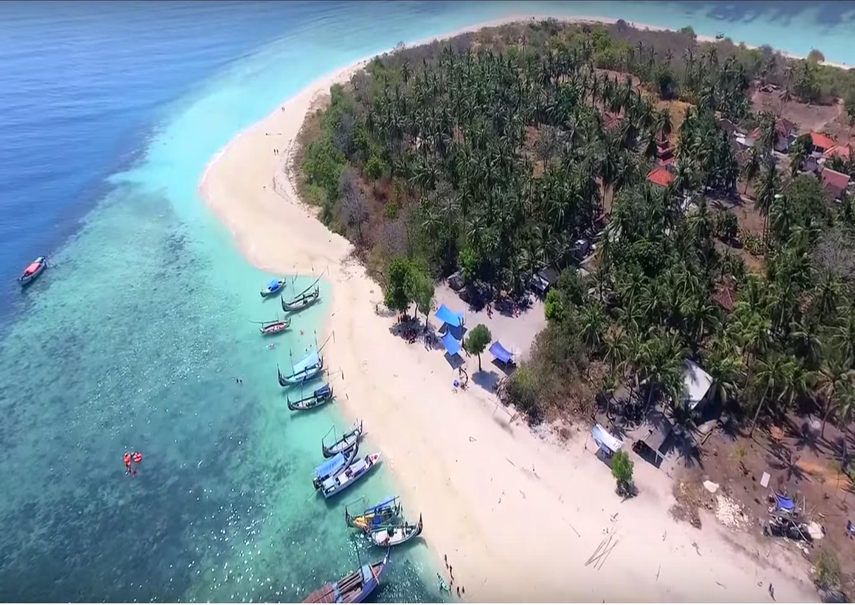 Mengunjungi 4 Pulau Menawan Garam Wisata Sumenep 1pulau Gili Labak