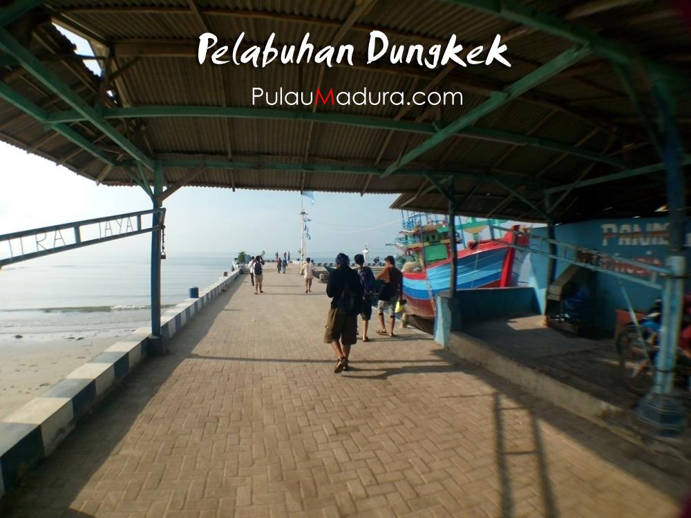 Mengunjungi Wisata Spot Oksigen Pulau Giliyang Kabupaten Sumenep Pelabuhan Dungkek