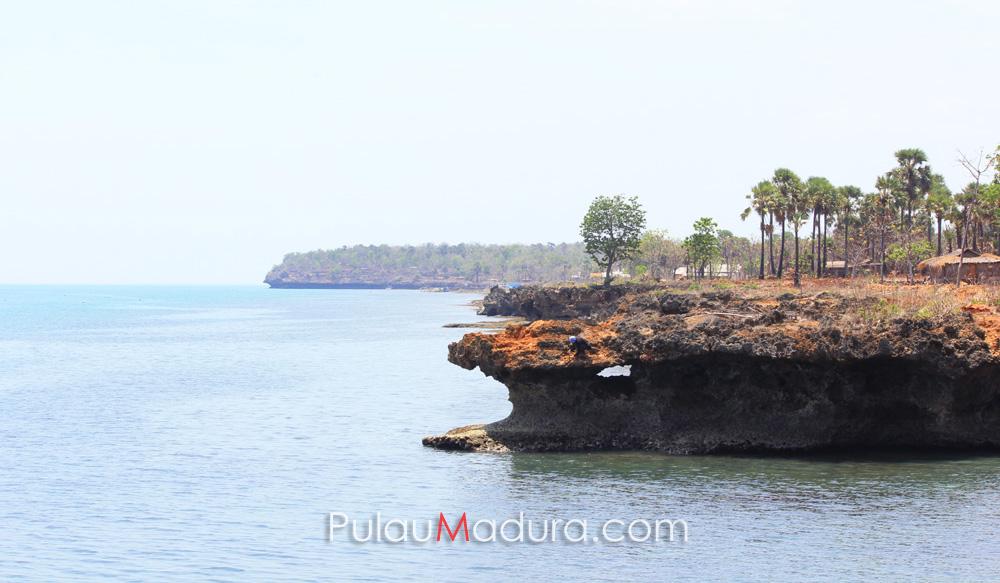 Obyek Wisata Pantai Ropet Pulau Gili Iyang Sumenep Gerbang Giliyang