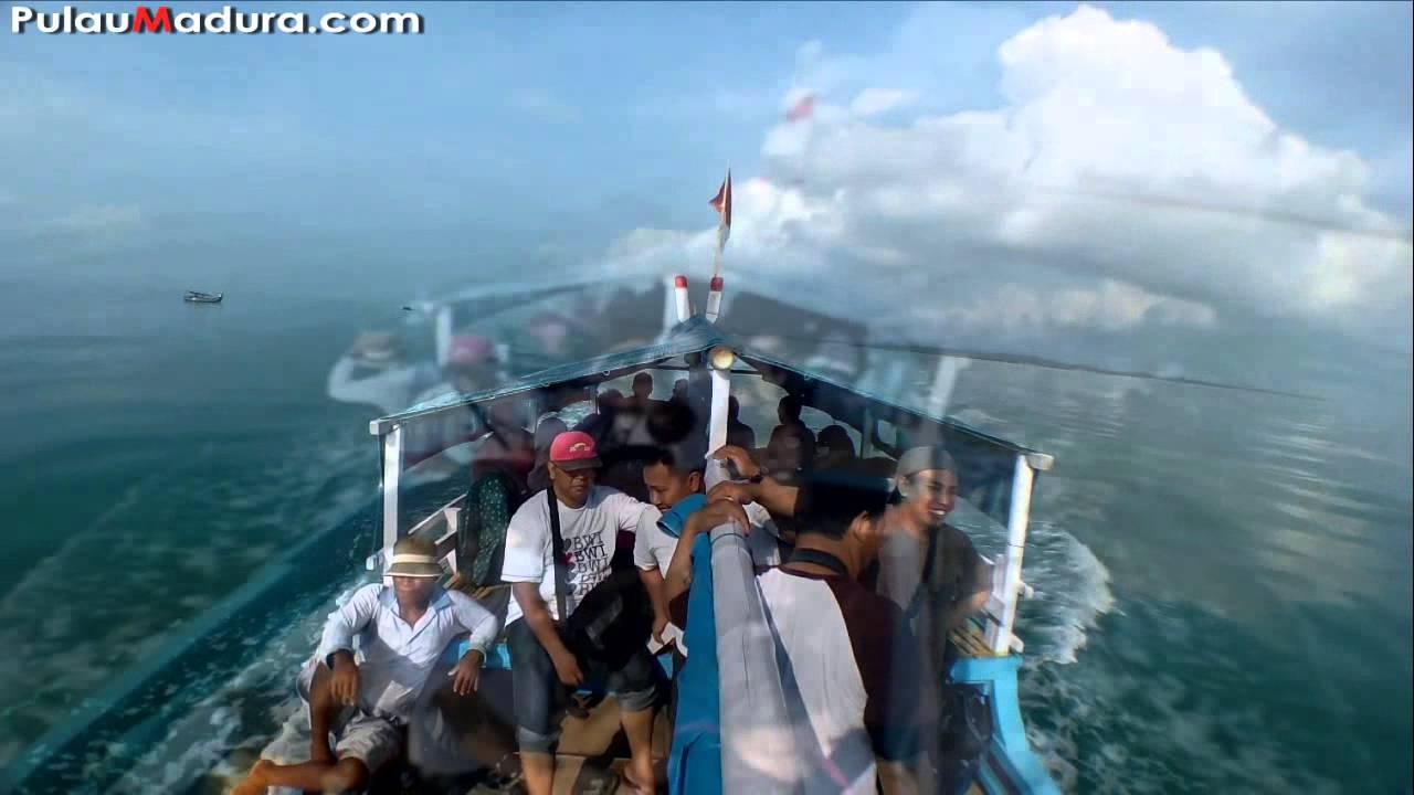 Perjalanan Menuju Pulau Gili Iyang Oksigen Tertinggi Madura Youtube Kab