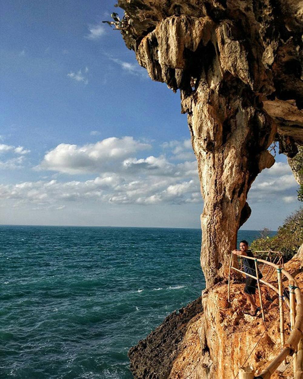 Pulau Awet Muda Sumenep Acehimagecom Photo Journalist Gili Iyang Wisatawan