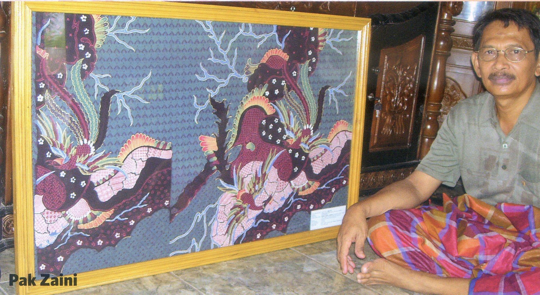 Batik Sumenep Pusaka Jawatimuran Keberadaan Kabupaten Sentra Pekandangan Kab