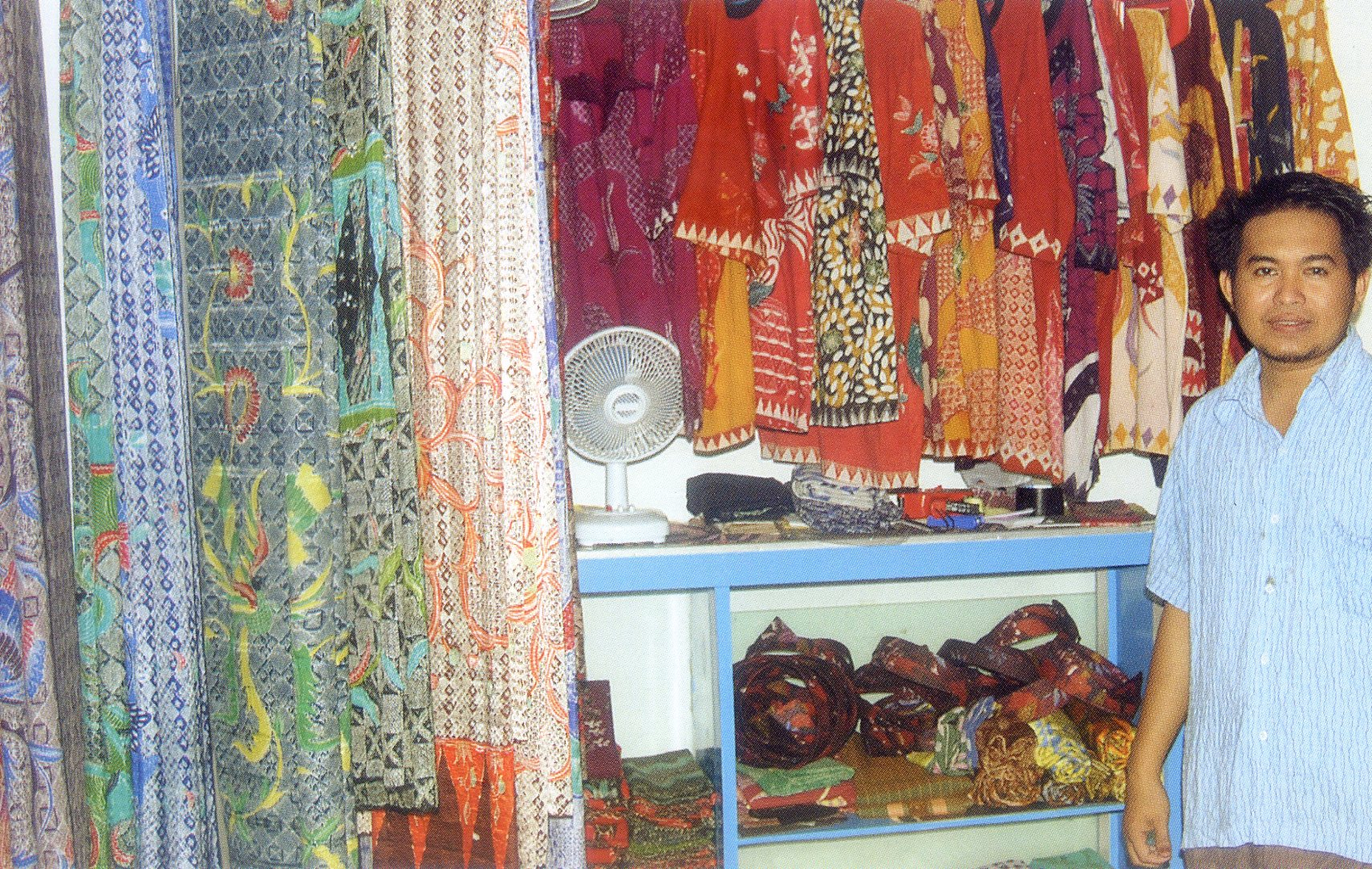 Batik Sumenep Pusaka Jawatimuran Madura Sentra Pekandangan Kab
