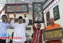 Kunjungi Centra Batik Gus Ipul Belajar Membatik Bareng Pengerajin Sentra