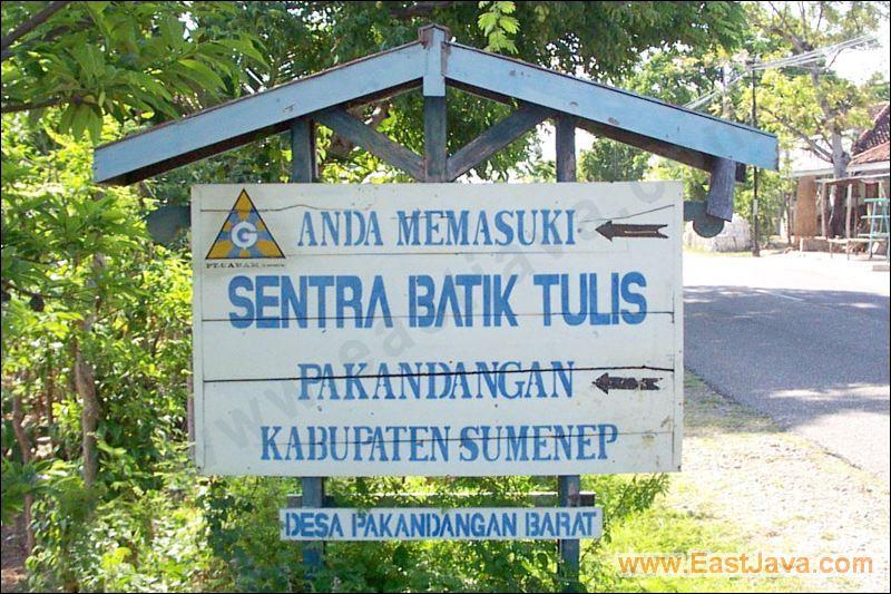 Soemenep Contoh Batik Sumenep 01 Sentra Pekandangan Kab