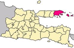 Sumenep Regency Wikipedia Location East Java Sentra Batik Pekandangan Kab