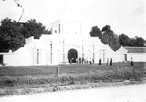 Sumenep Regency Wikipedia Mosque Founder Panembahan Somala 1890 Sentra Batik