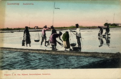 Sumenep Regency Wikiwand Salt Evaporation Pond 1895 1908 Sentra Batik