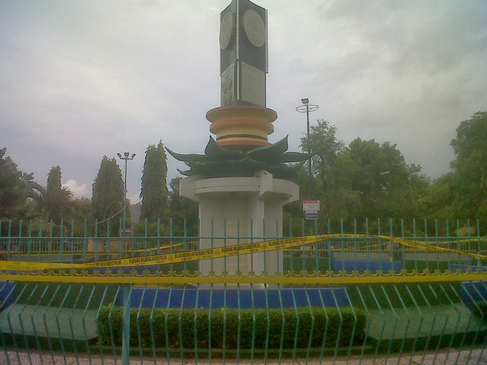 Siswa Tewas Monumen Adipura Sumenep Lintas Madura News Taman Kota