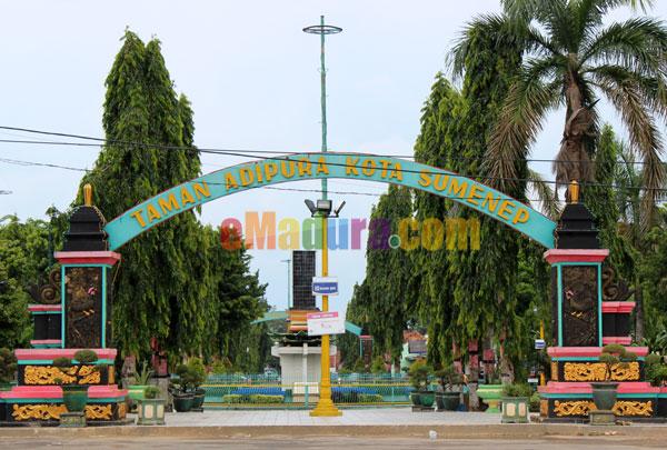 Taman Adipura Kota Sumenep Tempat Asyik Santai Emadura Kab