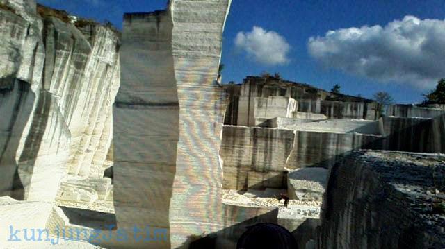Batu Putih Sumenep Kunjung Jatim Wisata Tempat Pertambangan Pulau Garam