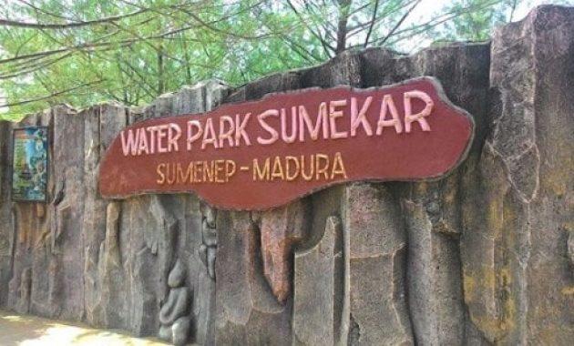 Daftar Harga Tiket Masuk Water Park Sumekar Madura Wisata Tanahair