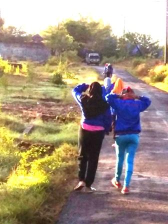 Jalan Sehat Desa Kasengan Lokasi Wps Tempat Rekreasi Kebanggaan Sumenep