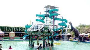 Obyek Wisata Wps Water Park Sumenep Madura Ramai Dikunjungi Wisatawan