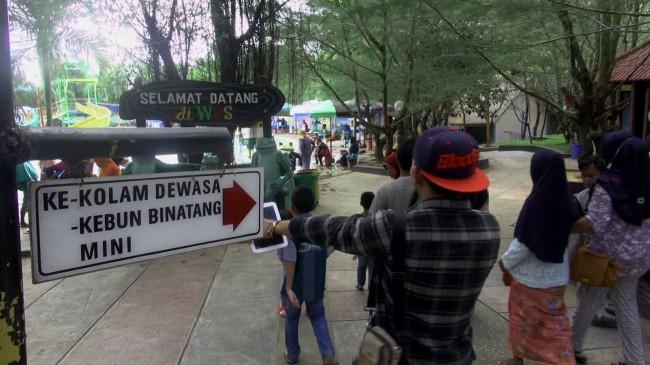 Peristiwa Lembaga Konservasi Satwa Satu Satunya Madura Ramai Wisatawan Wps