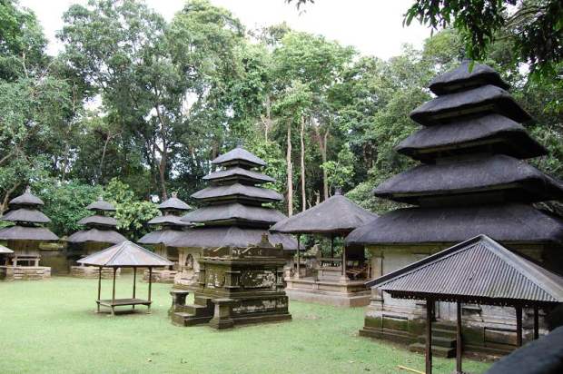 Alas Kedaton Temple Monkey Forest Bali Jungle Trekking Administratively Situated