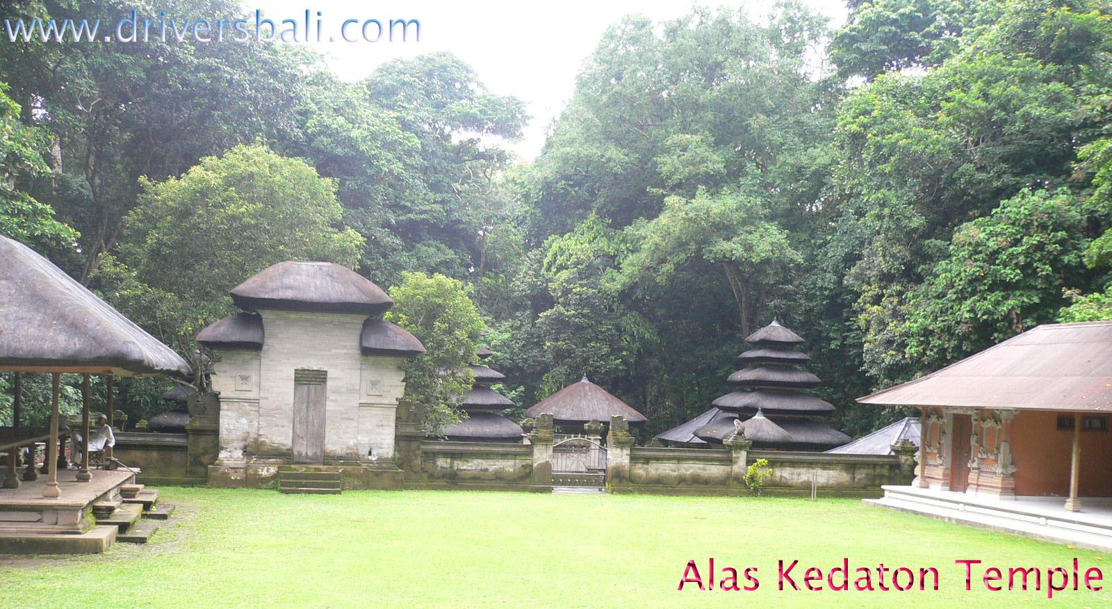 Alas Kedaton Temple Monkey Forest Kukuh Village Bali Kab Tabanan