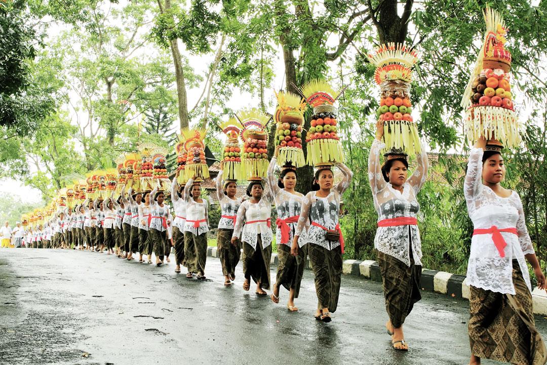 Alas Kedaton Temple Parade Festival Sukandia Photography Mepeed Tabanan Bali