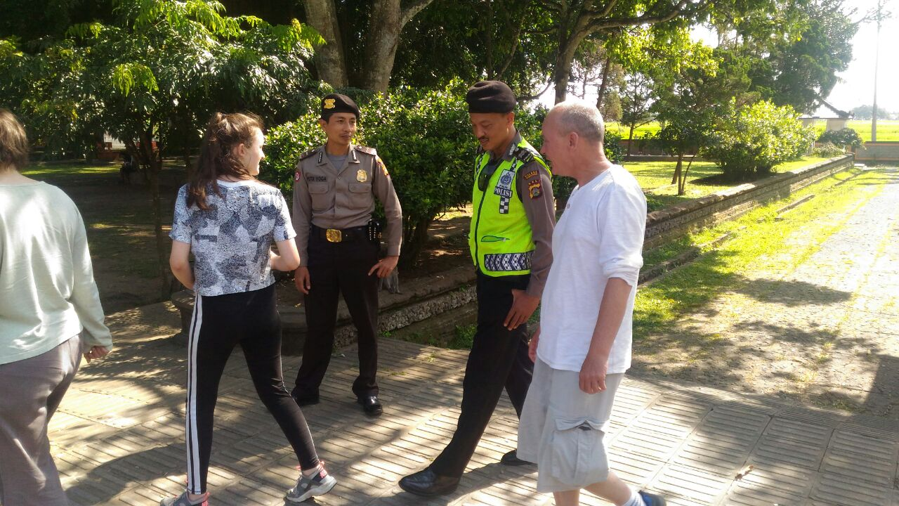 Satuan Sabhara Polres Tabanan Melaksanakan Patroli Obyek Wisata Menjaga Keamanan