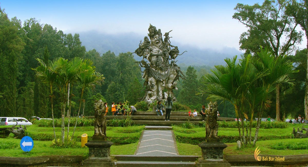 Bali Botanical Garden Kebun Raya Eka Karya Bedugul Kab Tabanan