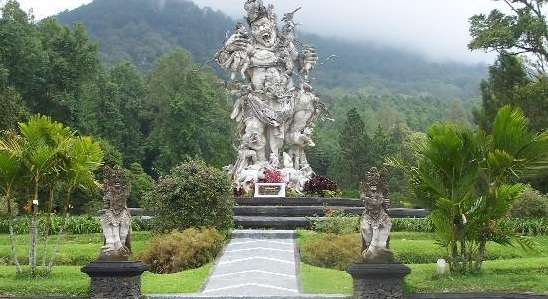 Bedugul Botanical Garden Kebun Raya Eka Karya Bali Kab Tabanan