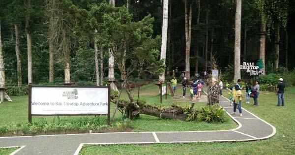Bedugul Kebun Raya Bali Botanical Garden Terluas Harga Tiket Masuk