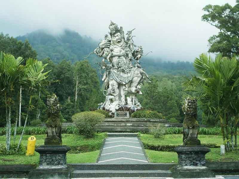 Objek Wisata Bedugul Bali Sewa Bus Kebun Raya Busbali Kab
