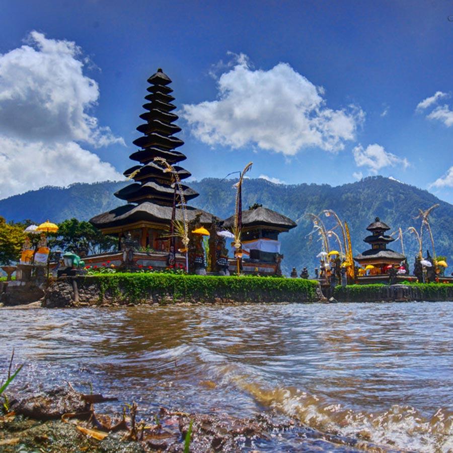 Bali Temples Pura Ulun Danu Bratan Floating Leaf Eco Retreat