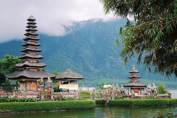 Pura Ulun Danu Beratan Tabanan Punapi Bali Bratan Kab