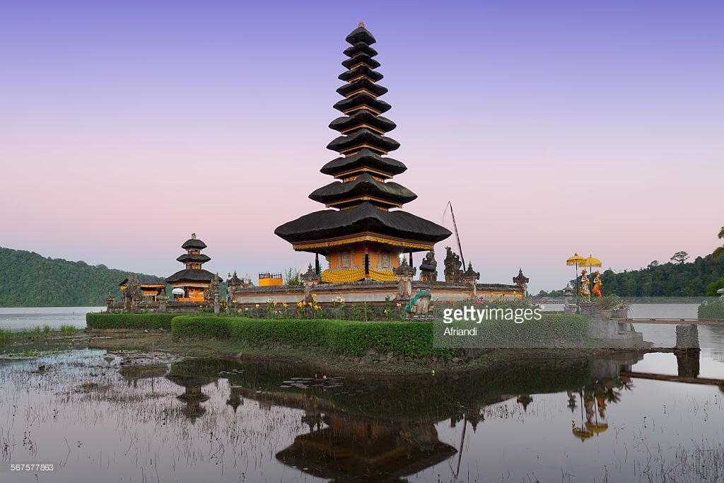 Pura Ulun Danu Bratan Bali Stock Photo Getty Images Kab