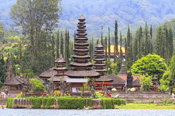 Ulun Danu Beratan Temple Visitbalitour Pura Bratan Kab Tabanan