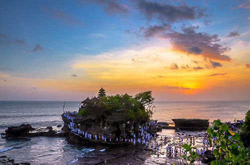 Bali Attractions Places Visit Tabanan Indonesia Tanah Lot Sea Temple