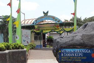Bali Butterfly Park Largest Asia Tour Hotel Entrance Taman Kupu