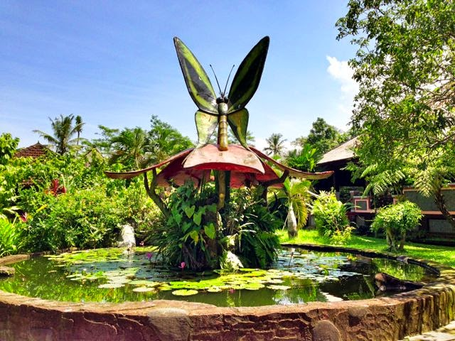 Bali Butterfly Park Taman Kupu Tabanan Free Insect Garden Located