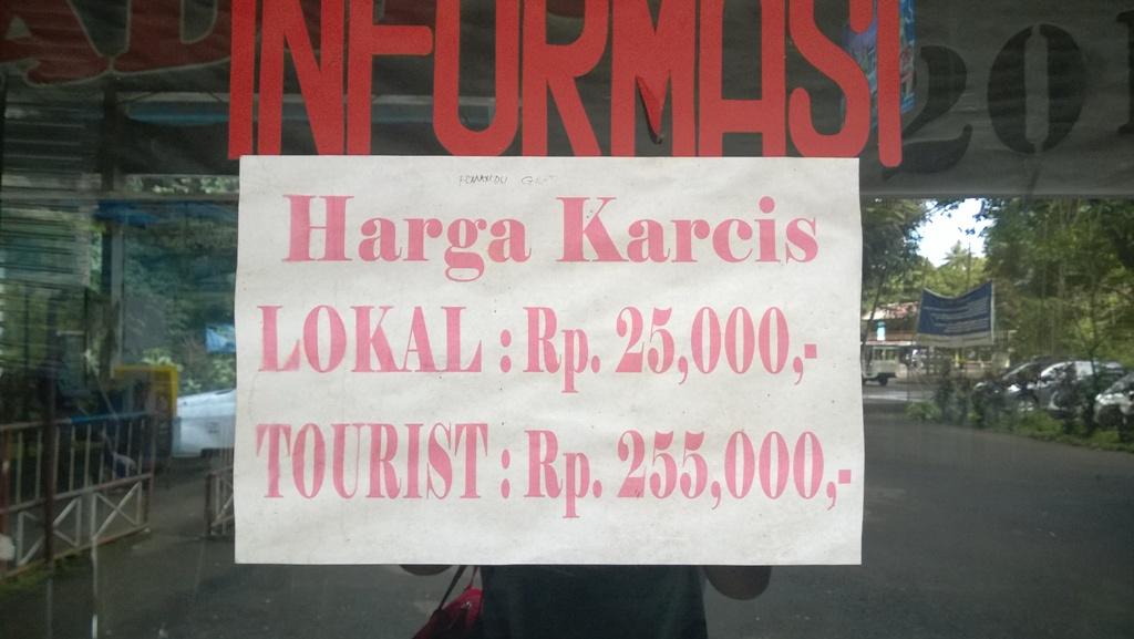 Taman Kupu Bantimurung Sulawesi Selatan Solo Htm Bali Kab Tabanan