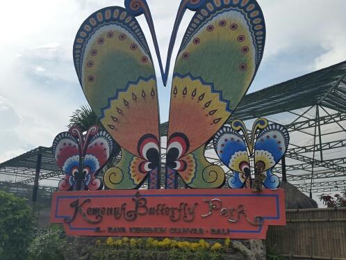 Taman Kupu Kemenuh Bali Kab Tabanan