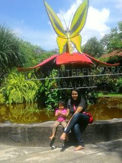 Taman Kupu Objek Wisata Edukasi Beautii Project Kecamatan Penebel Kabupaten