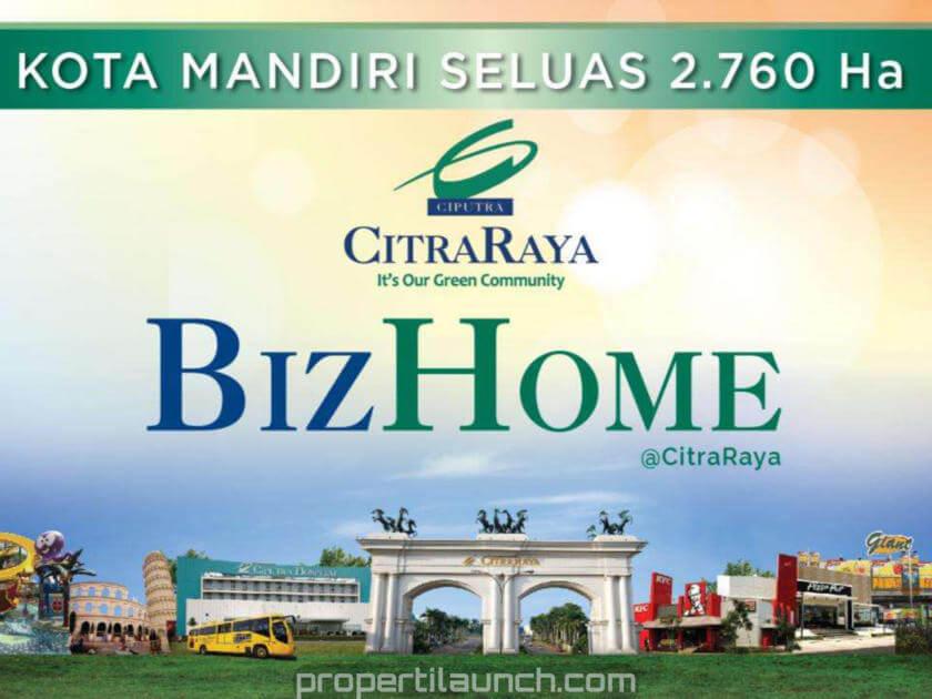 Bizhome Citra Raya Launching Perumahan Rp 299 Jutaan Citraraya Tangerang