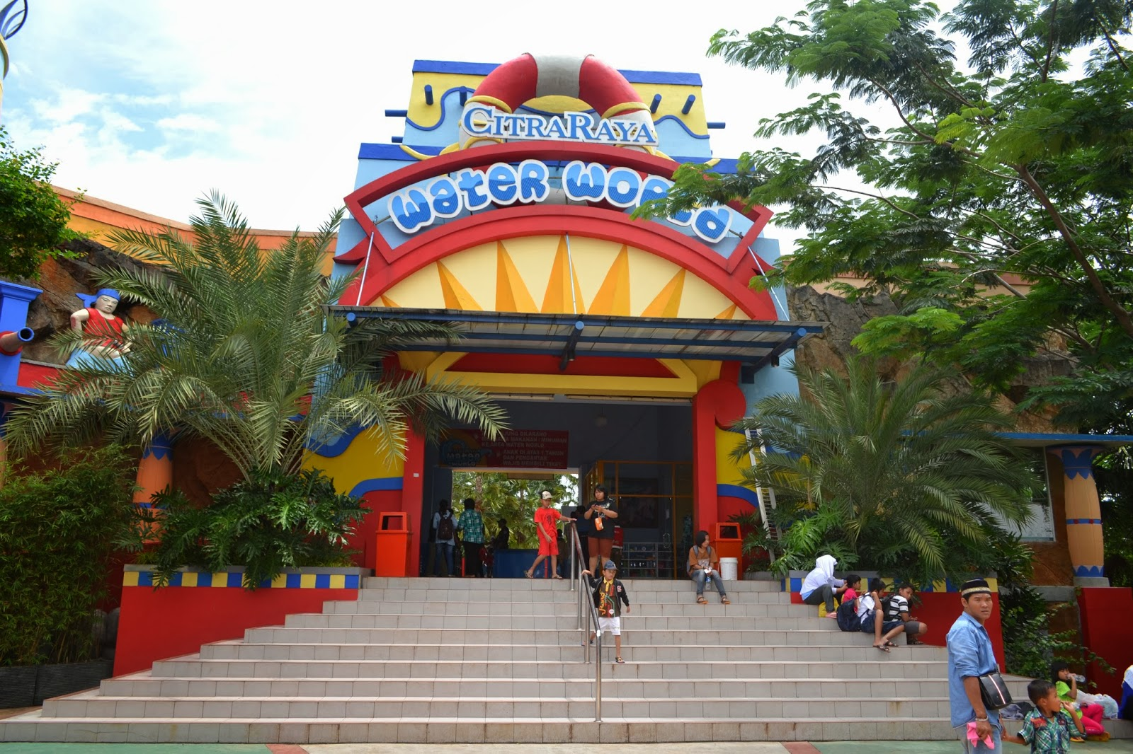 Citra Raya Water World Cikupa Tangerang Batikbesurek Park Dunia Air