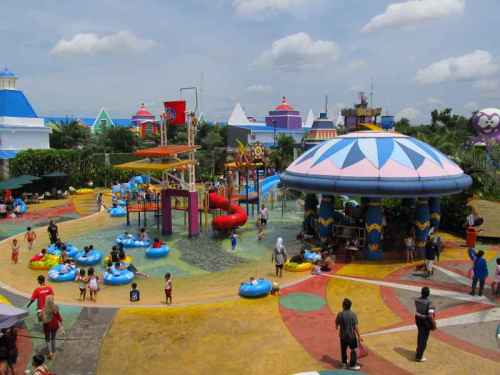 Citra Raya Water World Tangerang Salah Satu Tempat Rekreasi Berlokasi