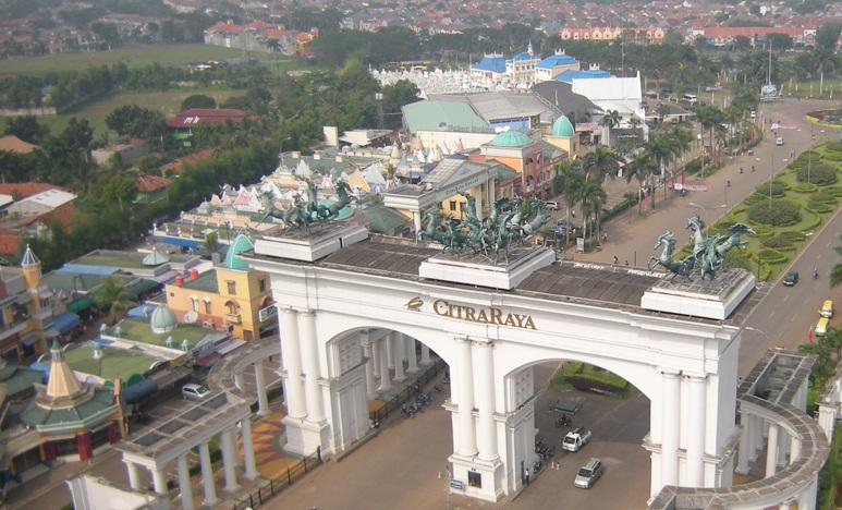 Citraraya Perumahan Fasilitas Lengkap Tangerang Super Dunia Air Citra Raya