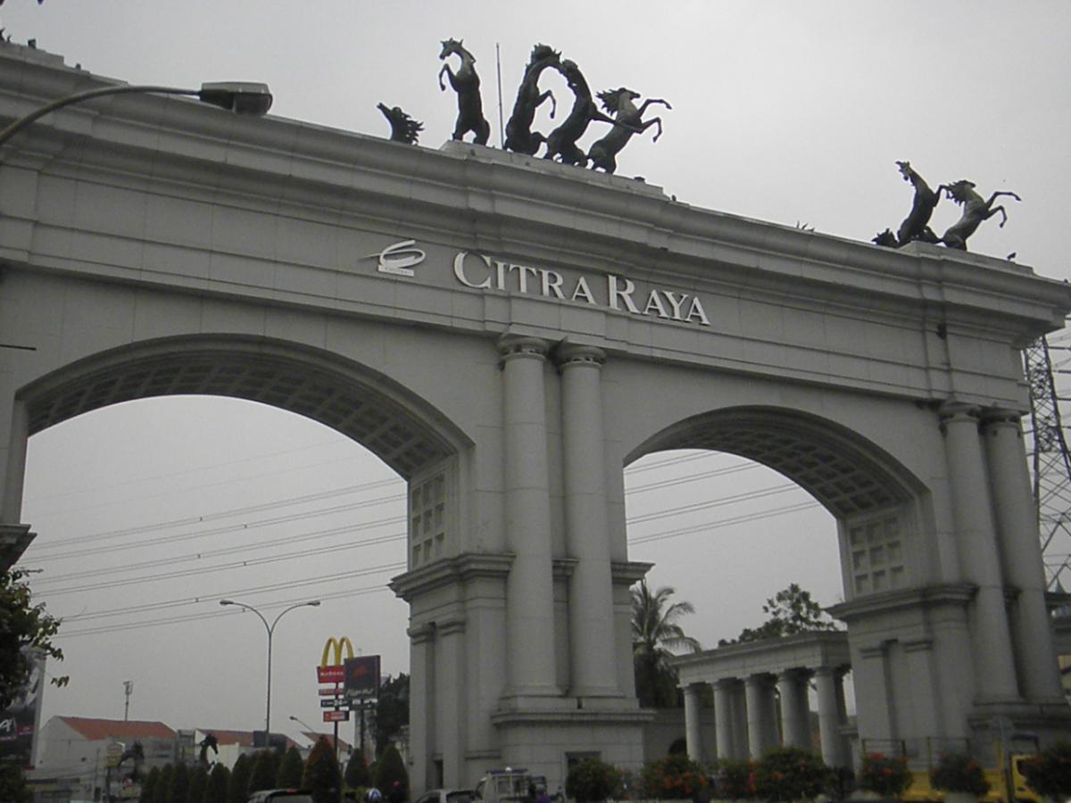 Melihat Perkembangan Citra Raya Tangerang Dekat Oleh Rushans Novaly Kompasiana