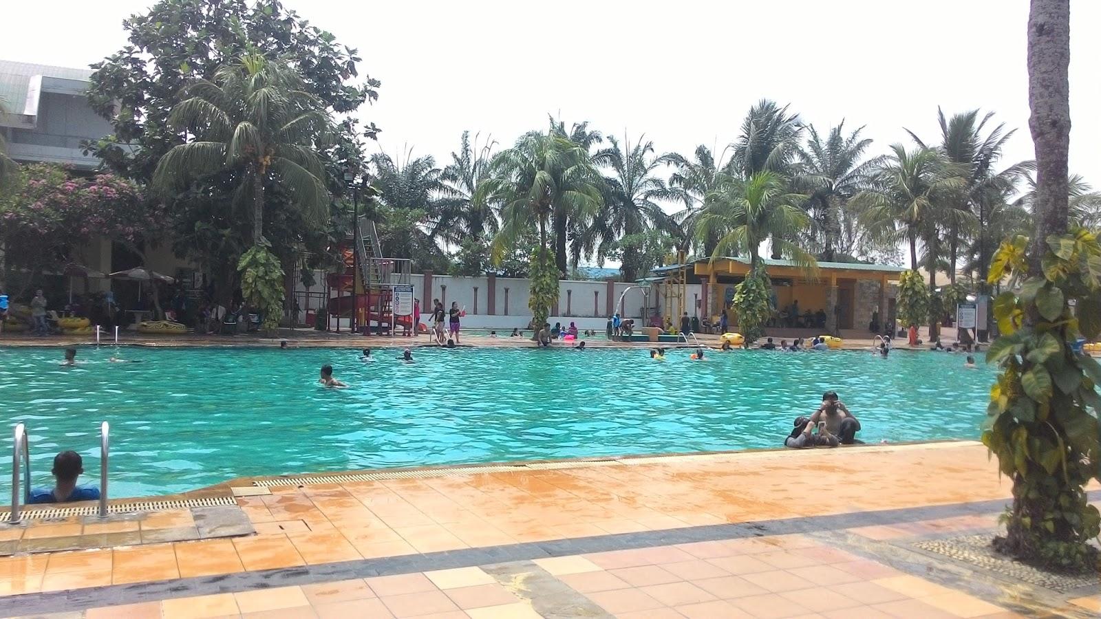 Review Wisata Citra Raya Water World Kolam Renang Olympic Belajar